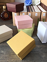 12 Piece/Set Favor Holder - Cubic Pearl Paper Gift Boxes Non-personalised