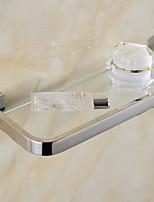 Cesta de Ducha / Gadget para Baño , Contemporáneo Pulido en Espejo Montura en Pared