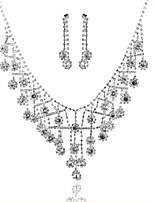 Per donna Girocolli Di forma geometrica Diamanti d'imitazione Lega Gioielli Per Matrimonio Feste Compleanno Fidanzamento