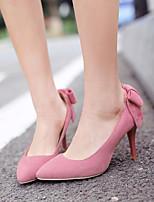 Women's Shoes Fleece / Leatherette Stiletto Heel Heels / Pointed Toe Heels Wedding / Office & Career / Party & Evening