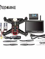 eachine coureur de 250 fpv drone construit en 5.8g émetteur OSD avec 7 pouces écran 32CH caméra HD arf