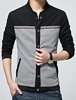 New winter Men's fashion long-sleeved jacket coat leisure coat HXTX-3357