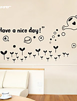 AWOO® New Wall Sticker Have A Nice Day Pattern Group On Behalf Of English customization