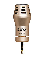 boya by-a100 omnidirektionales Kondensatormikrofon für iPhone iPad iPod Touch Android-Smartphones