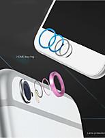 de haute qualité bouton d'accueil en métal couvercle protecteur anneau cercle + alliage d'aluminium couvercle de protection de la lentille