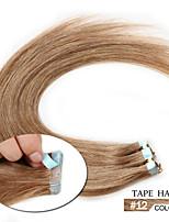 8A Popular Human Hair PU Tape 16