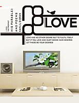 AWOO® New Love Wall Sticker Group On Behalf Of English customization