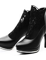 -Для женщин-Для офиса Для праздника Повседневный Для вечеринки / ужина-Синтетика-На шпильке-Гладиаторы-Обувь на каблуках