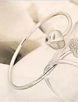 Double Diamond Heart Bracelet
