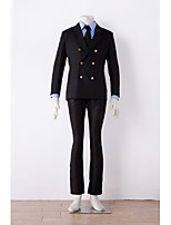 New Arrival One Piece Sanji Cosplay Costume Custom Made Suit