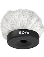 BOYA BY-P50 Furry Outdoor Interview Microphone Windshield Muff for Shotgun Capacitor Microphones