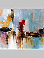 Hand-Painted Abstract Fantasy Modern Oil Painting On Canvas One Panel Ready To Hang 80x120cm