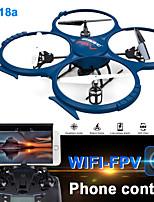 udi r / c 918a wifi caméra HD fpv temps réel quadcopter découverte de drone transmission de rc 2.4ghz 4 canaux 6axis gyro rc rtf