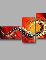 Ready to Hang Hand-Painted Oil Painting Canvas Three Panels 56