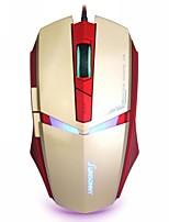 Sunsonny USB Wired 1600 DPI Adjustable LED Cool Gaming Mouse
