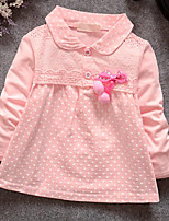 Girl's Color Spring  Kids Apparel Of 2016 Clothing Style Fabric Season