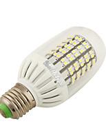 7W E26/E27 Lâmpadas Espiga 138 SMD 3528 600 lm Branco Quente AC100-240 V 2 pçs