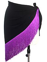 Dance Accessories Hip Scarves Women's Performance Milk Fiber Tassel(s) 1 Piece 8 Colors
