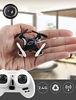 LiDi Mini Size 2.4G RC Helicopter Quadcopter L7W wifi 0.3M CameraGravity Sensor Led Light 3D Rolling