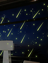 Luminous Wall Stickers Wall Decals Style Romantic Meteor Shower Waterproof Removable PVC Wall Stickers