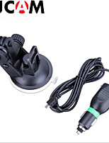 Car Charger Mount + Suction cup Bracket Car Holder With Car ChargerFor  SJCAM