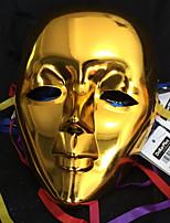 #carnival acc # ganze Gesicht Metallmaske