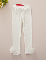 Girls' Casual/Daily Floral Pants-Cotton Spring Fall