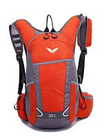 30 L Заплечный рюкзак Восхождение Спорт в свободное время Отдых и туризм Дожденепроницаемый Защита от пыли Дышащий Многофункциональный