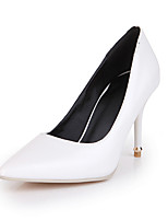 Women's Shoes Stiletto Heel Heels / Pointed Toe Heels Dress Black / Pink / Beige
