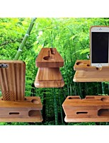 bambù telefoni cellulari / mela orologi titolare multifunzione
