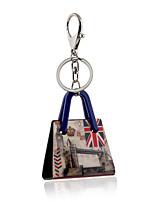 2016 New Arrival Keychain for Keys Acrylic London Big Ben Portachiavi Charms Key Chains Llaves Porte Clef Sleutelhanger
