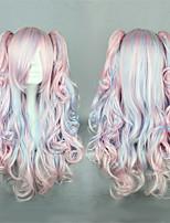 달콤한 로리타 60cm 긴 여러 가지 빛깔의 로리타의 가발