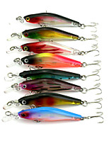1 pcs Minnow Minnow Random Colors 6.32 g Ounce mm inch,Hard Plastic Bait Casting