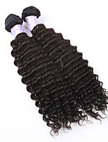 3pcs/lot Cheap Hair Products Indian Virgin Hair Loose Deep Wave 3 Bundles 8A Unprocessed Curly Human Hair