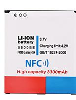3.7V 3300mAh bateria Li-ion com NFC para Samsung i9500 S4