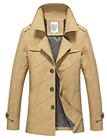 2016 new autumn young men thin jacket in the long coat Business Casual Jacket Mens Korean slim