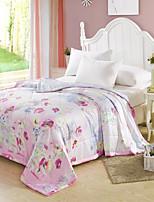 Yuxin®Tencel Modal Summer Air Conditioning Quilt Quilt Reactive Printing Summer Cool Quilt  Bedding Set