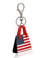 2016 Key Chains American and British Flag Jewelry Handbag Car Keychain Women Charm Holder Key Ring Wholesale