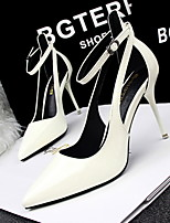 Women's Shoes Office & Career/Dress/Party & Evening Stiletto Heels Shoes Black/Silver/Red/White
