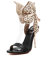 Women's Shoes Stiletto  Heels / Open Toe Sandals Wedding /  Party & Evening Dress Silver / Gold