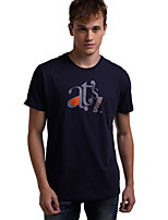 Men's Short Sleeve T-Shirt Casual Print