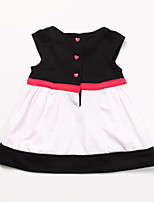 Girl's Black Dress ,Cotton Summer