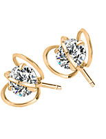 Crystal Zircon New Fashion Jewelry Popular Female Geometric Earrings