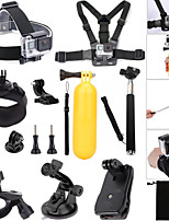 15 in 1 GoPro Band Telescopic Monopod with Mount Adapter for GoPro Hero 4 3+ 3 sj4000 Xiaomi Yi action camera