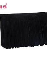 Rangement pour Maquillage Trousse à Cosmétiques / Rangement pour Maquillage Polyester Franges Carré 23x7x15cm Noir / Rouge / Violet