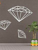 AYA™ DIY Wall Stickers Wall Decals, Diamond PVC Wall Stickers
