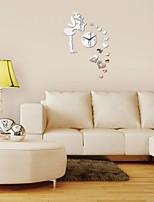 Redondo Moderno/Contemporáneo / Casual / Oficina/ Negocios Reloj de pared,Vacaciones / Casas / Inspirador / Cumpleaños / Boda / Familia /
