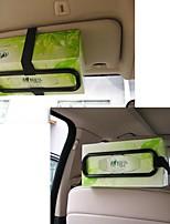 ZIQIAO Fashion Car Visor Tissue Paper Plastic Box Holder for Back Seat