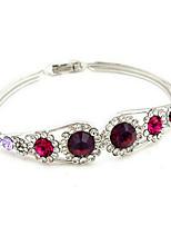 Femme Chaînes & Bracelets Zircon cubique Mode Bohême Plaqué or Forme de Fleur Bijoux Pour Soirée