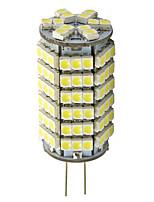 G4 5.5W 120-LED 3528 bombilla caliente la forma de maíz blanco conducido